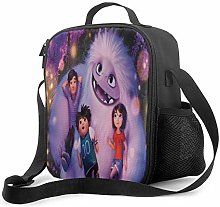Ahdyr Snowman Abominable Insulated Lunch Bag for