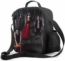 Ahdyr Vampire Diaries Insulated Lunch Bag for