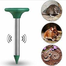 aheadad Animal Control Repellent 2PCS Solar Mole