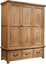 Ahlers 3 Door Wardrobe Union Rustic