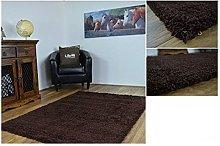 AHOC black Rug, polypropylene, 160x225cm