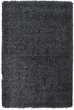 AHOC Rug, Polypropylene, Black, 120cm Circle
