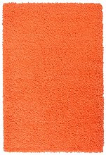 AHOC Rug, Polypropylene, Orange, 120cm Circle