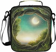 Ahomy Enchanted Dark Forest Kids Lunch Bags