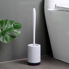 AHTOSKA Toilet brush and holder kit, toilet
