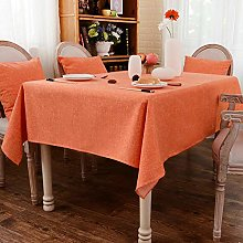 Ahuike Modern Table Cloths Table Covers Cotton and