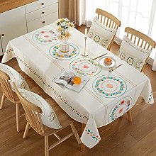 Ahuike orient Design Rectangular Wipeable Table