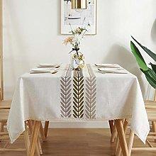Ahuike Pattern Waterproof Table Cloth Linen