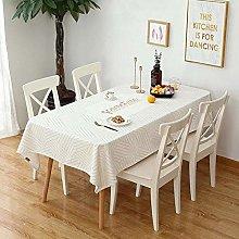 Ahuike Pattern Waterproof Table Cloth Modern