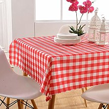Ahuike Pattern Waterproof Table Cloth Simple And