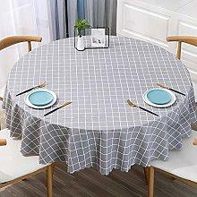Ahuike Pattern Waterproof Table Cloth Simple Pvc