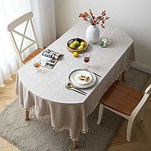 Ahuike Rectangle Tablecloth Table Covers Oval