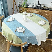 Ahuike Rectangular Oblong Table Cloths Cotton and