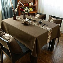 Ahuike Rectangular Oblong Table Cloths Simple