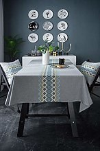 Ahuike Wipe Clean Oilcloth Table Cloth Linen