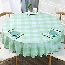 Ahuike Wipe Clean Oilcloth Table Cloth Simple Pvc