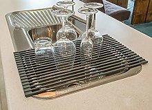 Ahyuan Large Roll-up Dish Drying Rack Multipurpose