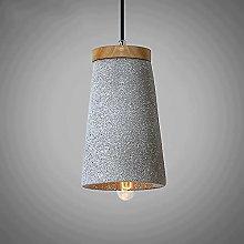 Ahzhlb Cement Pendant Light, Colored Sand Terrazzo