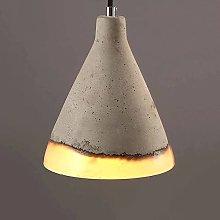Ahzhlb Cement Pendant Light, Terrazzo Hanging