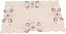 Aiasiry Embroidered Short Table Runner Tea Table