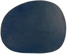 Aida - Placemat Leather Dark Blue