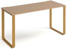 Aida Rectangular Home Office Desk, 140wx60dx73h