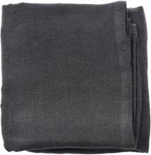 Aida - Set of 4 Dark Grey Linen Napkins