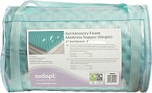 Aidapt 5.0cm Memory Foam Cool Mattress Topper - Single