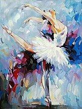 Aidemei 5D Diamond Embroidery Ballet Dancer