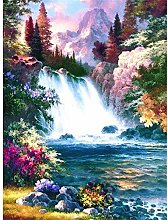 Aidemei 5D Diamond Painting Landscape Waterfall
