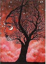 Aidemei 5D DIY Full Drill Diamond Painting Tree