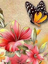 Aidemei Full Drill Diamond Painting 5D Butterfly