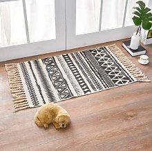 Aidou Bohemian Cotton Linen Doormats, Retro