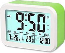 Aiduy LED Alarm Clock, Smart Voice Talking Clock