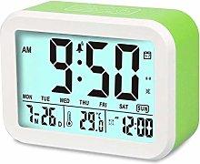 Aiduy Talking Alarm Clock, Digital Clock with 7