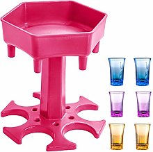 AIEOE Bar Shot Dispenser Holder Silicone with 6pcs