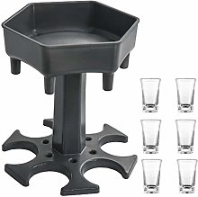 AIEOE Shot Glass Dispenser Holder Silicone with