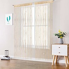 AIFENTE 1Pc Beaded Curtain String Curtains Beaded