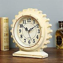 Aiglen Vintage Table Clock Home Decor Living Room