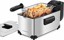 Aigostar Deep Fryer 2200W, 3L, 304 Food Grade