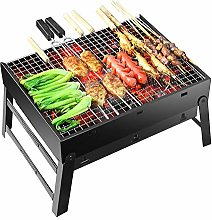 AIHOUSE Barbecue Grill Portable Foldable Charcoal