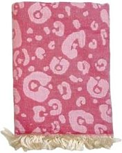 Ailera - Large Pink Leopard Picnic Blanket