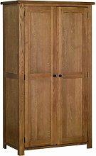 Ailish 2 Door Wardrobe Union Rustic
