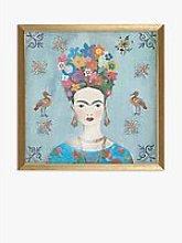 Aimee Wilson - Frida Kahlo Portrait Framed Print,