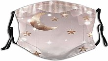 AIMILUX Twinkle Stars String Moon Curtain Unisex