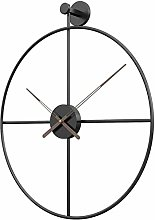 AIOJY 50Cm Metal Wall Clock Simple Style Silent