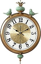 AIOJY American Copped Wall Clock, Silent Clock,