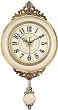 AIOJY Antique Luxury Clock Wall Clock European