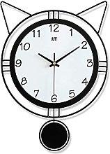 AIOJY Children'S Wall Clock, Wooden Wall Clock
