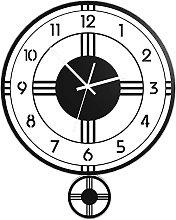 AIOJY Cutil Wall Clock, Metal Wall Clock, Living